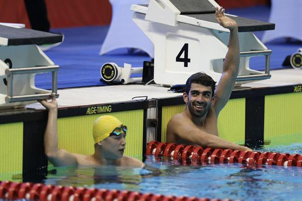 Iranian swimmer collects 4th gold medal at Asian Para Games
